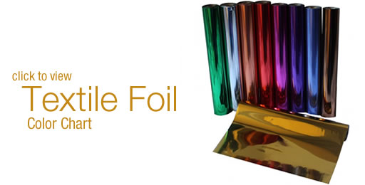 Foil Color Gallery - Color Chart